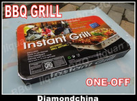 Charcoal  Grills one-off  ONE-OFF Outdoor Carbon BBQ Grill for Camping 48*31*6CM Disposable BBQ