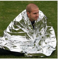 Wholesale CM Emergency Rescue Space Foil Thermal Blanket silver