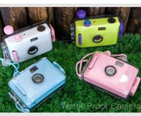 Wholesale Lomo Waterproof camera Mixed with style Lovely Film Diving Lomo Film Cameras fun camera LOMO camera
