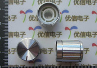 Wholesale 15 mm Silver aluminum alloy potentiometer knob