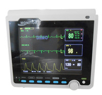 Wholesale CMS B NIBP SPO2 PR TEMP ECG Medical Vital Sign Patient Monitor Monitoring System Healthcare Equipment
