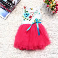 TuTu Summer Ball Gown 2013 new arrival Summer dresses girls baby tutu dress kids clothes girls gauze cotton princess lace tulle dress childrens clothing,Y-13APR24