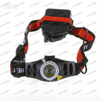 Wholesale LLFA1484 Ultra Bright Lumen lm CREE Q5 LED Headlamp Headlight Zoomable flashlight head light