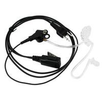 Wholesale DHL High Quality Pin Covert Acoustic Tube Earpiece For ICOM Radio A038A