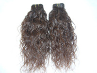 Wholesale virgin indian remy hair extension quot natural curly brown