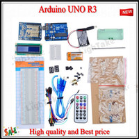 Wholesale New For Arduino UNO R3 Development Board Kit for Arduino Development expansion board Top grad bread board LCD modules