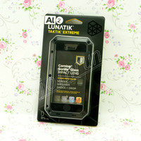 Wholesale Hot Metal Lunatik Extreme Aluminium Alloy Case with Gorilla Glass Screen Protection for iPhone G DHL