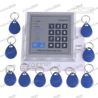 Wholesale LLFA1496 RFID Proximity Entry Door Lock Access Control System with Key Fobs