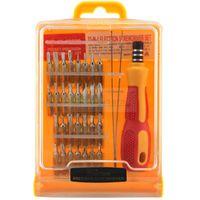 Wholesale 32 in set Micro Pocket Precision Screw Driver Kit Magnetic Screwdriver cell phone tool repair box