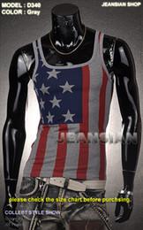 Wholesale Jeansian Designer Mens Shirt Vest Undershirt Tank Top Slim Sexy S M L XL D340 T