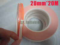 Wholesale mmx20m Heat Conductive Faces Adhesive Tape for LED Strip Transistor Soft PCB with Heatsink Module Thermal Transfer