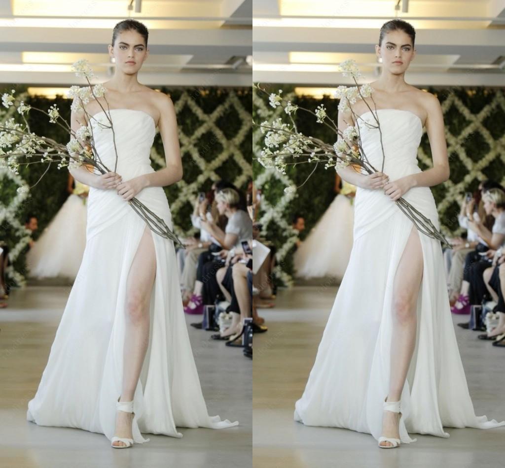 Tailor made chiffon wedding dresses brand design sheath for Tailor made wedding dress