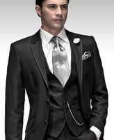 Wholesale New Men Formal Jacket Slim Fit Wedding Blazer Trouser Tuxedo Coat Pant Suit jiacket pants vest bow Custom made