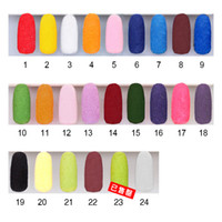 Cheap Nail Art 3D Decoration nail art Best Velvet Flocking Powder  stamping nail art