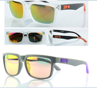 Wholesale pair Fashion brand SPY sunglasses men HOT popular designer sunglasses spy glasses Colorful men and women free