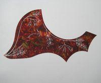 Wholesale Hummingbird Acoustic guitar Pickguard For Gibson Celluloid Flower quot Guitar Pickguard