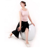 Wholesale Back Deep V Women Yoga Clothing Suit with Chest Pad Dancing Dress Fitness Clothes options S XXL