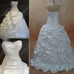 2013 Crystal Wedding Dress Hot Selling Luxury Peacock Beaded Embroidery Ball Gown Satin Brazilian Designer Wedding Dresses BR01