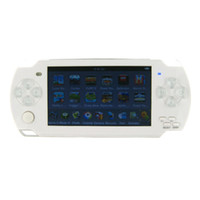 "4.3 inch Yes 8GB New 8GB 4.3"" LCD Touch Screen Game Mp3 Mp4 Mp5 Game Player Camera FM TV Out + 2000 Games - white"