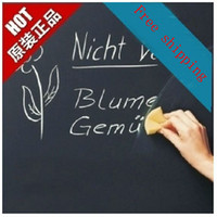 Wholesale Peel and Stick Blackboard sticker eco friendly teaching blackboard wall stickers child real wall