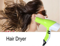 Wholesale Fashion Watt Household Type Green Hair Dryer Drop Shipping