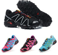 Wholesale New Arrived Colors Salomon Speedcross CS Clima Women Athletic Shoes Sneaker Sport Shoes Running shoes US5