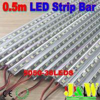 Wholesale Dropship New m cm LED V LED Hard Strip Bar Light Aluminium Alloy Shell Housing CE RoHS x