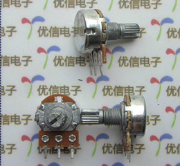 Wholesale 1K Single union potentiometer Pin Handle length mm
