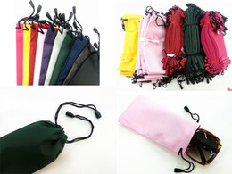 Wholesale DHL Cellphone Pouch Sunglasses D Glasses Case Waterproof Holder Soft Dust Pouch Carry Bag New