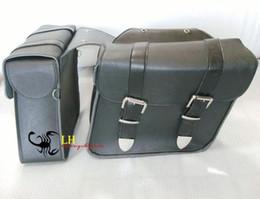 motorcycle side bag Saddle bag Leather Motorcycle saddlebags luggage NEW