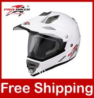 Wholesale Motocross Helmet ABS Dirt bike Off road Motorcycle Helmet Full face White XS S M L XL XXL HX Helmets H602