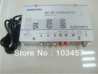 audio frequency converter - SB C Audio amp video frequency agility modulator converter AV RF converter