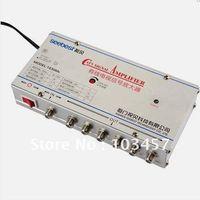 Wholesale SB M6 way catv signal amplifer Sat Cable TV Signal Amplifier Splitter Booster CATV DB