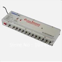 Wholesale SB M12 way catv signal amplifer Sat Cable TV Signal Amplifier Splitter Booster CATV DB