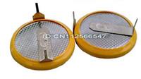 Button Cell Batteries battery tab welding - pieces CR2032 Cell Coin Button battery With Tabs Welding two weld legs