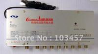 Wholesale SB M8 way catv signal amplifer Sat Cable TV Signal Amplifier Splitter Booster CATV DB