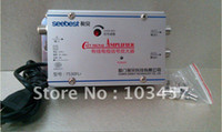 Wholesale SB FL7 way catv signal amplifer Sat Cable TV Signal Amplifier Splitter Booster CATV DB