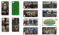 Wholesale 2013 hot New Duck Dynasty hard white case cover for iphone th
