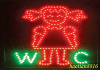 Wholesale Femal WC LED sign hot Sale in