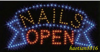 Wholesale Super light Saving energy Nails Open LED sign