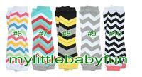 Wholesale Baby Chevron Leg Warmer Baby infant colorful leg warmer child socks Legging Tights pairs U Pick Color freely