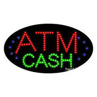 atm services - Best service ATM cash LED sign