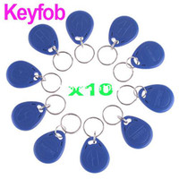 Wholesale Blue IC Intification Door Entry Access Key Keyfob Card free drop drop
