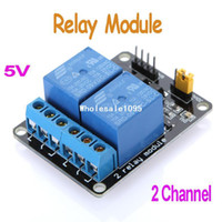 Wholesale High Quality V Active Low Channel Relay Module Board for Arduino PIC AVR MCU DSP ARM Free drop
