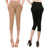 Wholesale 2014 Harlan pants new styles Korean thin slim pants in summer clothes for women s trousers casual pants Promotion