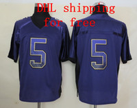 Wholesale DHL shipping for free Sportswear purple Drift Fashion Elite Jerseys all teams have stock new cloth new style drop ship off