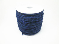 Wholesale yards Ply Craft Sapphire Hemp Rope Jute Rope Decorative Jute Twine Cord Spool Packaged
