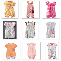Wholesale Top Quality Jumping Beans Baby Shortalls Romper Baby One pieces Clothes Toddler Overalls Girl s Bodysuits Newborn Babywear W111