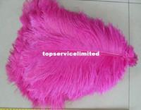 Wholesale 100pcs quot cm white Ostrich Feather Plume for Wedding Centerpiece kit