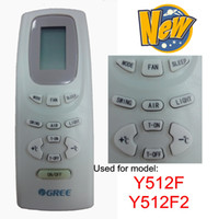 Wholesale GREE air conditioner remote control Y512F Y512F2